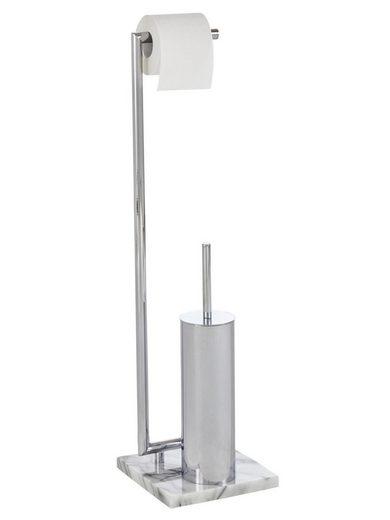heine home WC-Garnitur mit Marmor-Standfuß