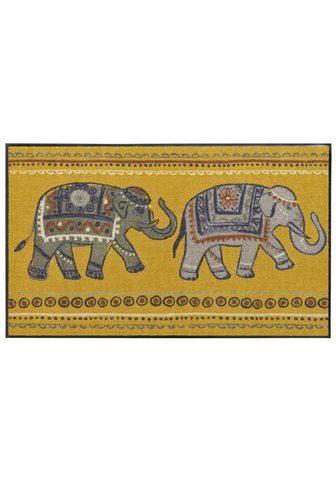 SALONLOEWE Durų kilimėlis Elefant. lengvai prižiū...