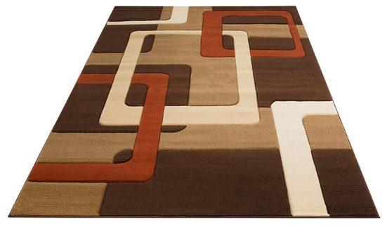 Teppich »Maxim«, my home, rechteckig, Höhe 13 mm, Hoch-Tief-Effekt