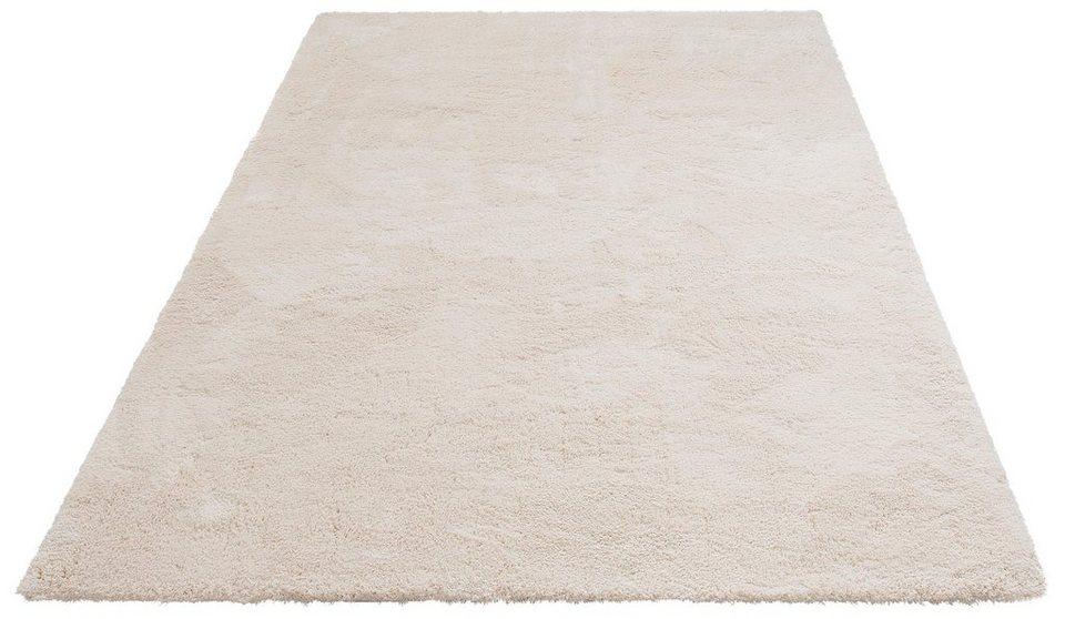 hochflor teppich magong my home rechteckig hohe 25 mm