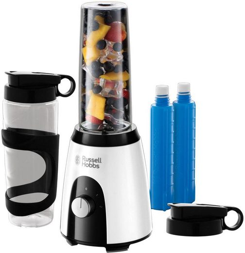RUSSELL HOBBS Smoothie-Maker Mix & Go Boost Horizon 25161-56, 400 Watt, 400 W