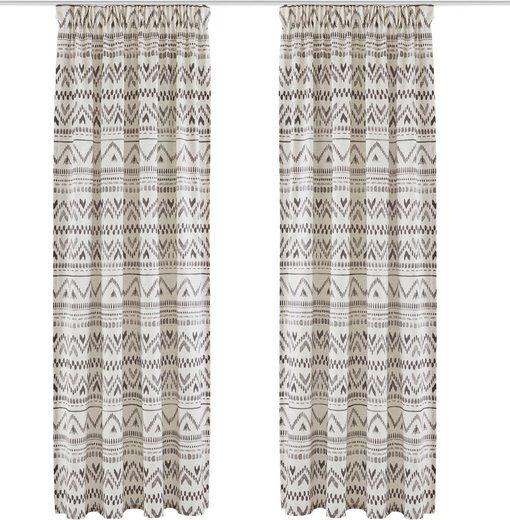 Vorhang »Kiras«, andas, Multifunktionsband (1 Stück), mit modernen Muster