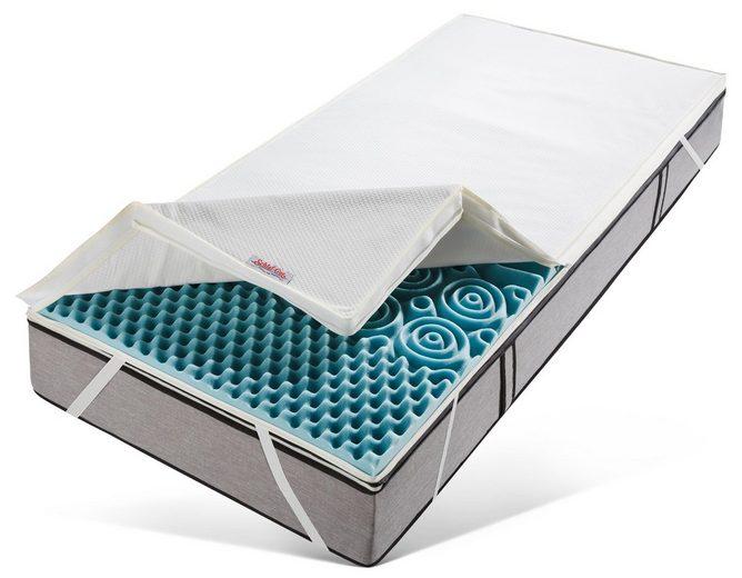 Topper »Sanamed Luxus TKS«, Schlaf-Gut, 6 cm hoch, Raumgewicht: 35, Kaltschaum