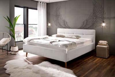 meise.möbel Polsterbett »Lotte«, mit Lattenrost und Bettkasten
