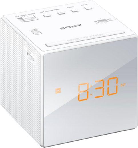 Sony Radio »Uhrenradio ICF-C1B«