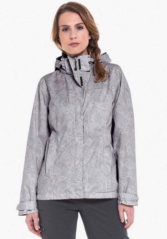 Schöffel Regenjacke »Jacket Easy L3 AOP« | Sportbekleidung > Sportjacken > Regenjacken | Schöffel