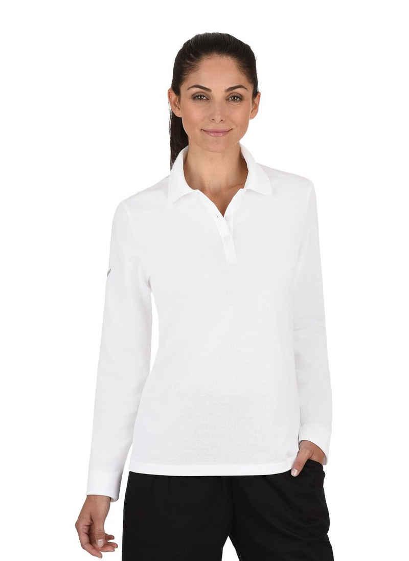 Trigema Langarm-Poloshirt