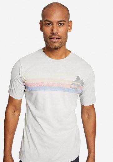 khujo T-Shirt »TASMAN RAINBOW« mit Print
