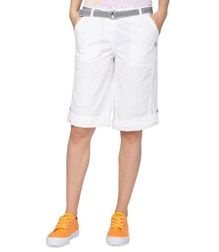 SOCCX Shorts mit Gürtel