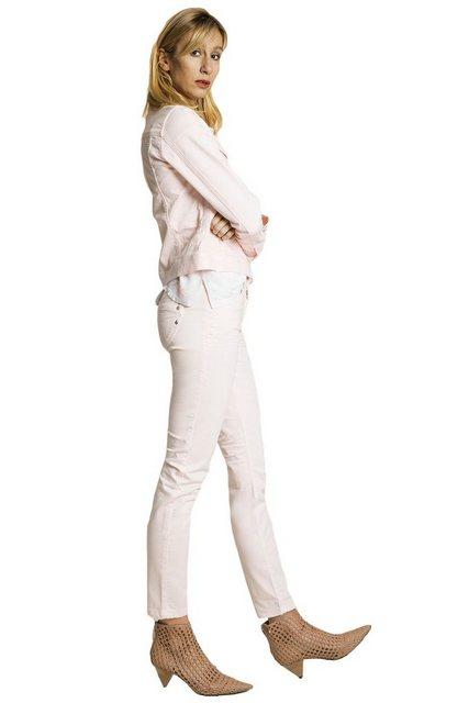 Hosen - BLUE FIRE Jeans im modischen Slim Fit »Nancy« › rosa  - Onlineshop OTTO