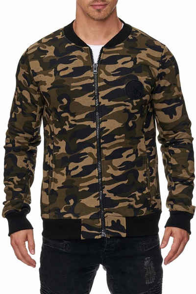 Tazzio Sweatjacke »16210« Sweater im College Style