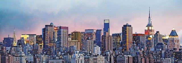 Home affaire Wandtapete, Manhattan Skyline, 127/366 cm