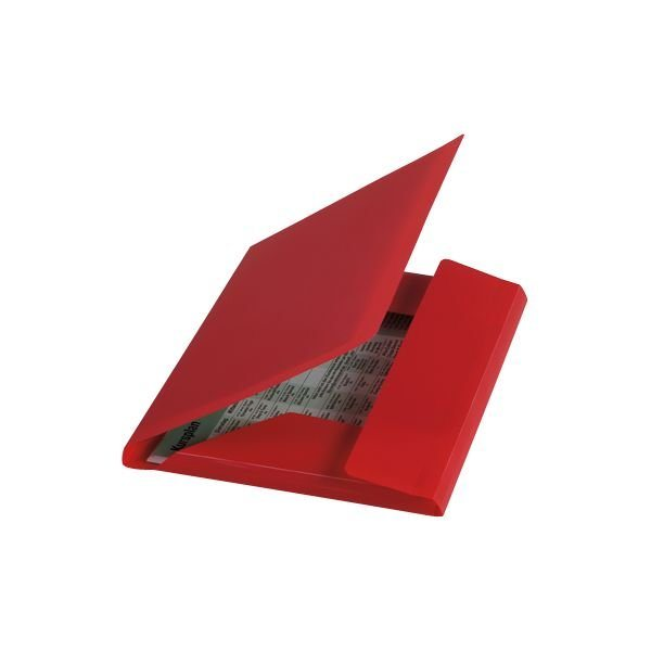 Foldersys Eckspannermappe in rot