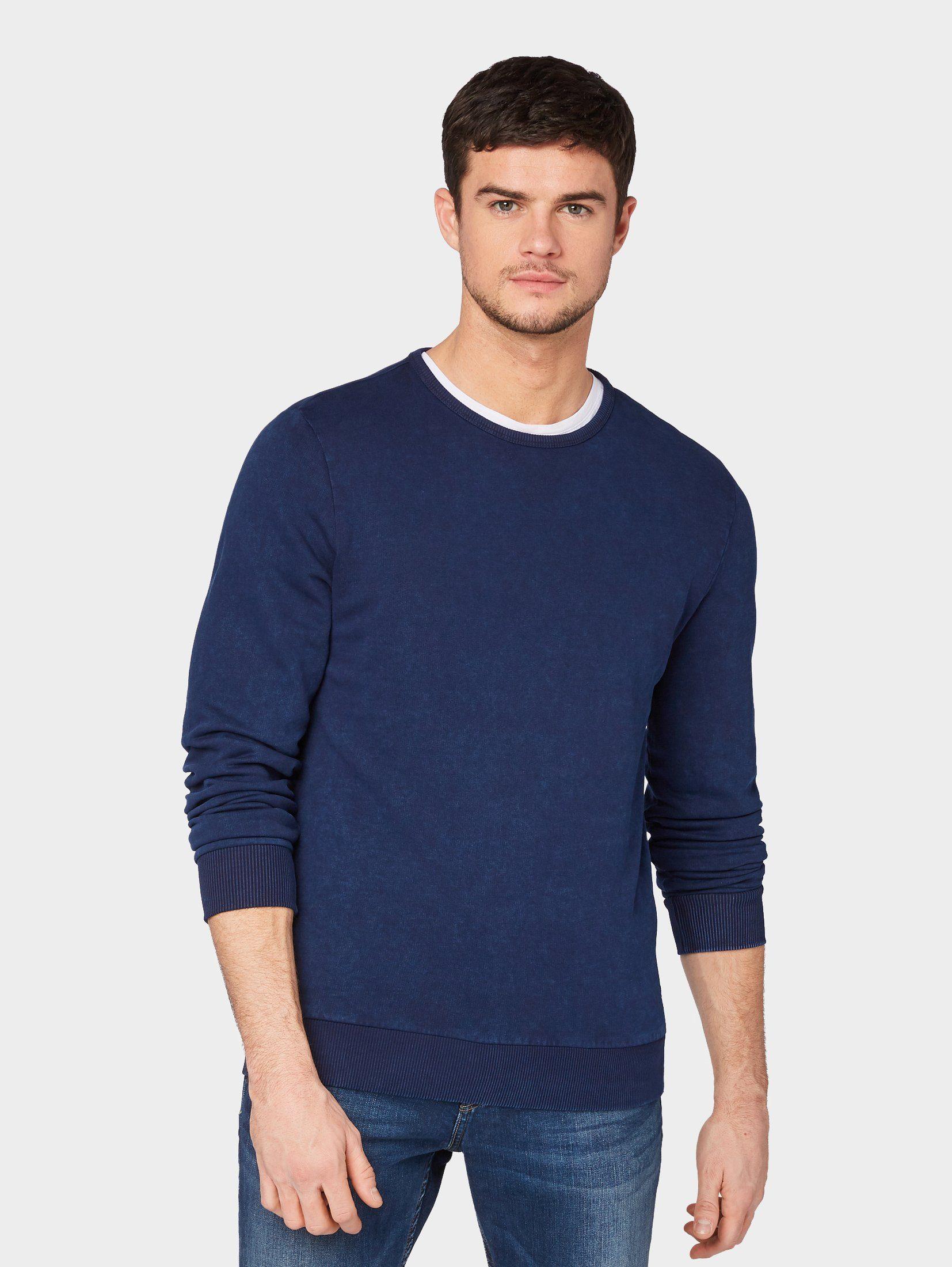 TOM TAILOR Sweatshirt »Gemusterter Pullover«