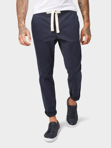 TOM TAILOR Denim Chinohose »Strukturierte Jogginghose«