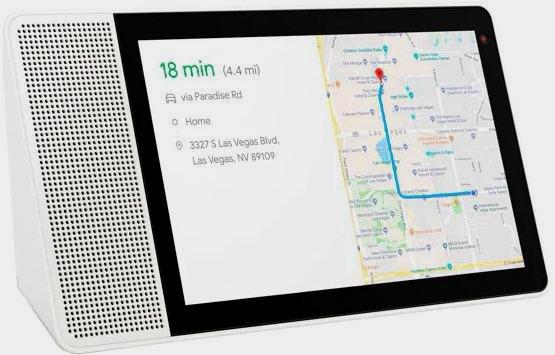 "Lenovo Smart Display 8"" Smart-Speaker (Bluetooth, WLAN (WiFi), Alexa-Sprachsteuerung, Mikrofon, 10 W, mit Google Assistant)"