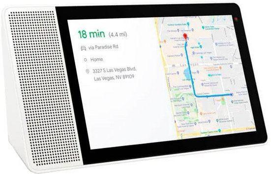 "Lenovo Smart Display 8"" (20,3 cm) Smart Speaker (Bluetooth, WLAN (WiFi), 10 W, mit Google Assistant)"