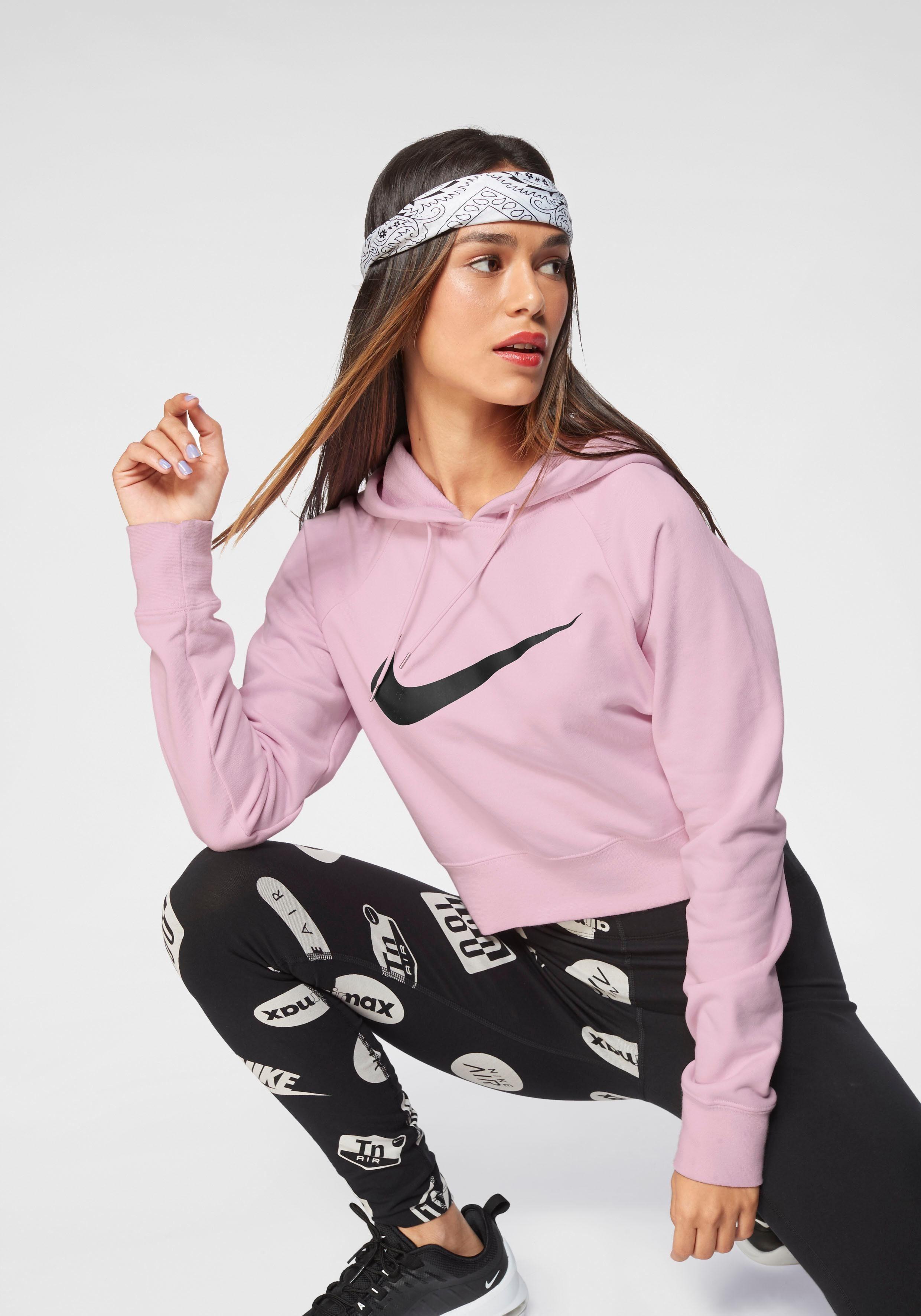 Nike Sportswear Kapuzensweatshirt »W NSW SWSH HOODIE CROP FT«