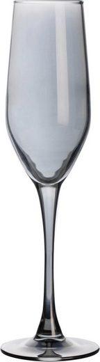 Luminarc Sektglas »Shiny« (4-tlg), farblich beschichtet
