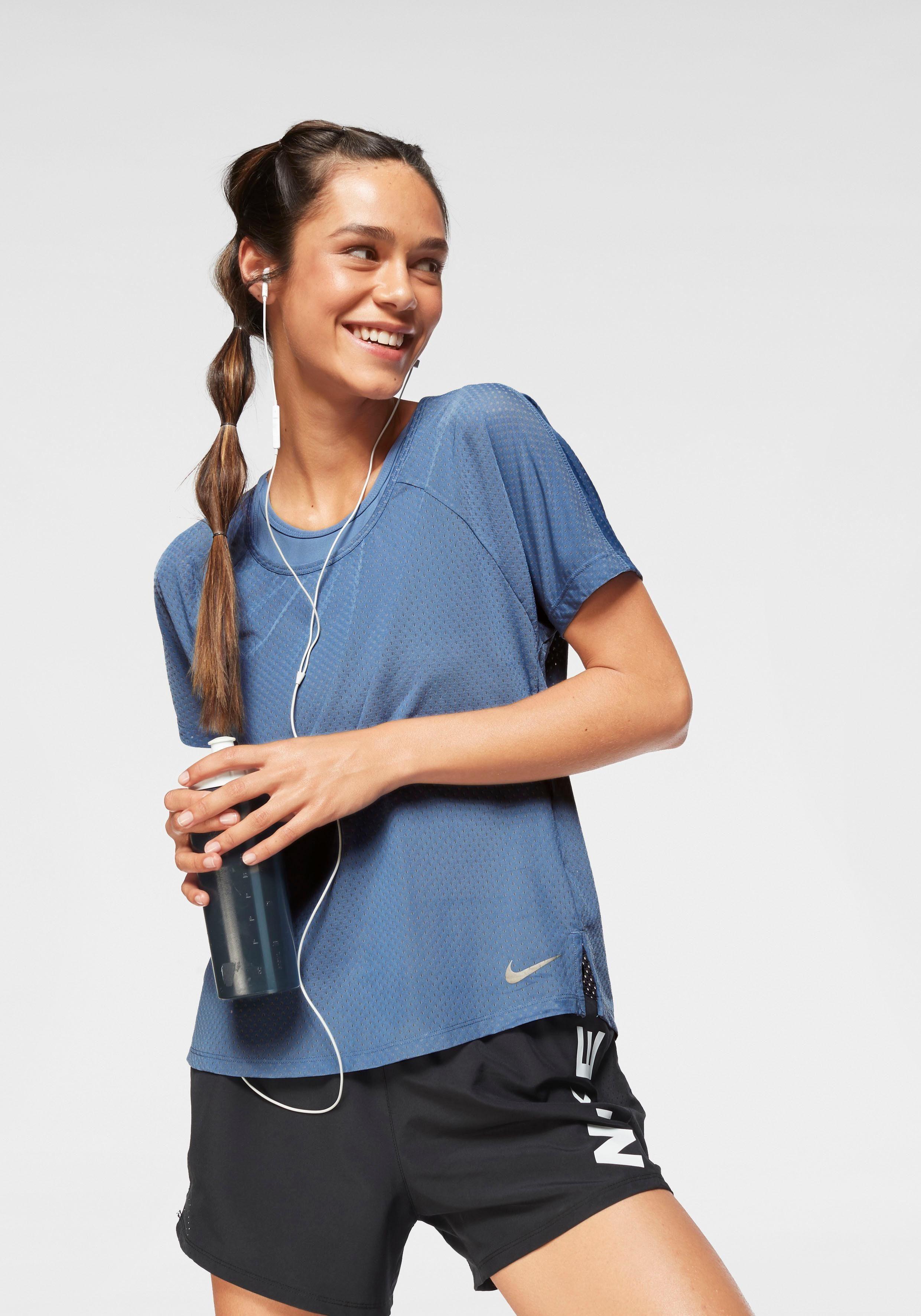 Nike Laufshirt »WOMAN BREATHE MILER RUNNING TOP«
