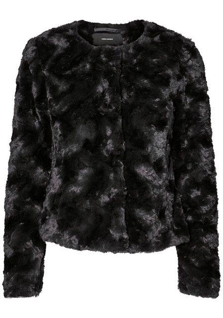 Vero Moda Fellimitatjacke »CURL« | Bekleidung > Jacken > Fellimitatjacken | Vero Moda