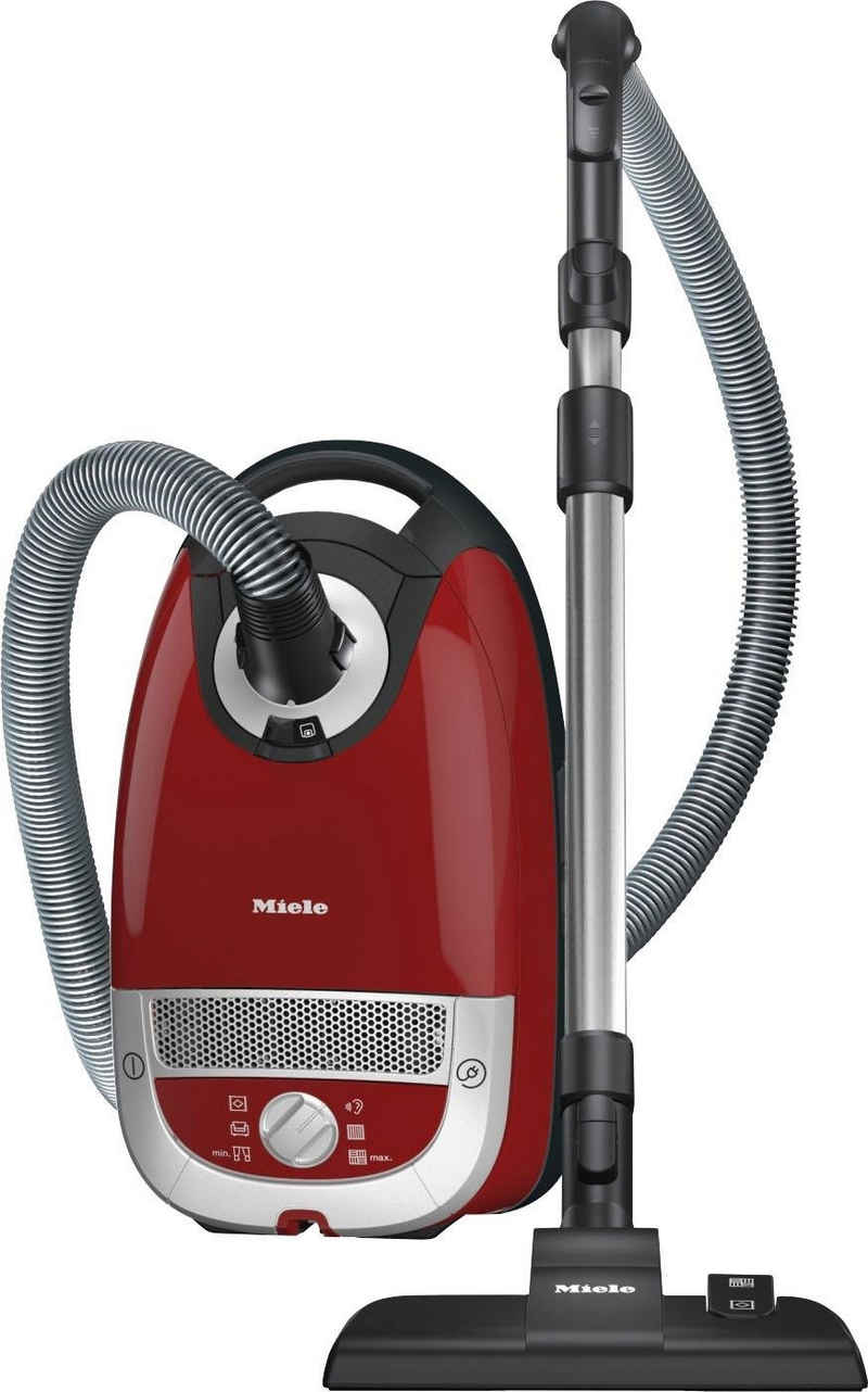 Miele Bodenstaubsauger Complete C2 Tango EcoLine, 550 Watt, mit Beutel, rot
