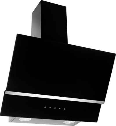 Amica Kopffreihaube KHF 664 610 S, LED-Beleuchtung