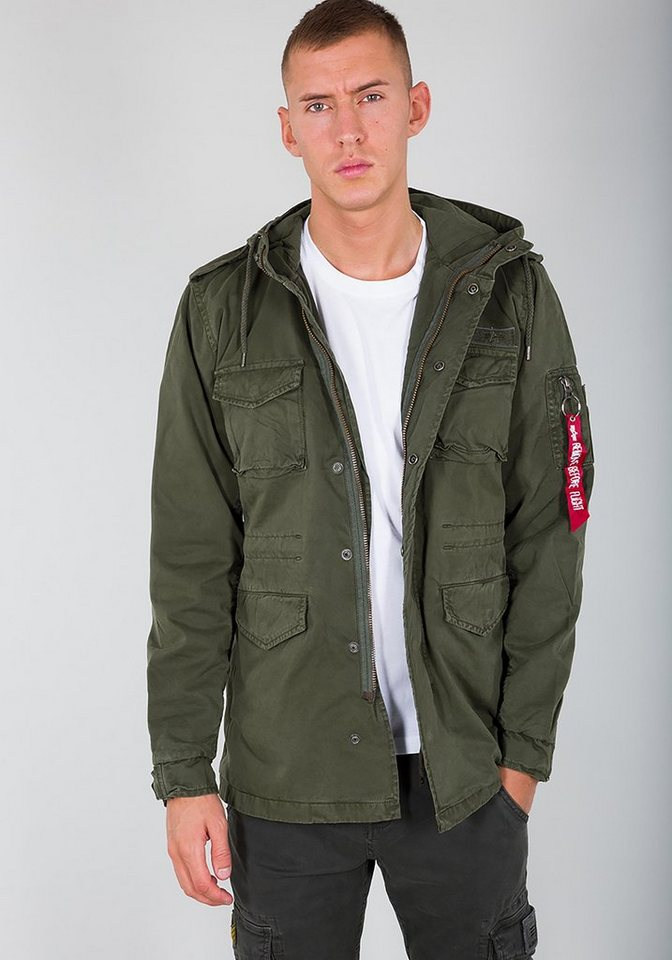 c113ed8f7bfd Alpha Industries Fieldjacket »Huntington Hood«   OTTO