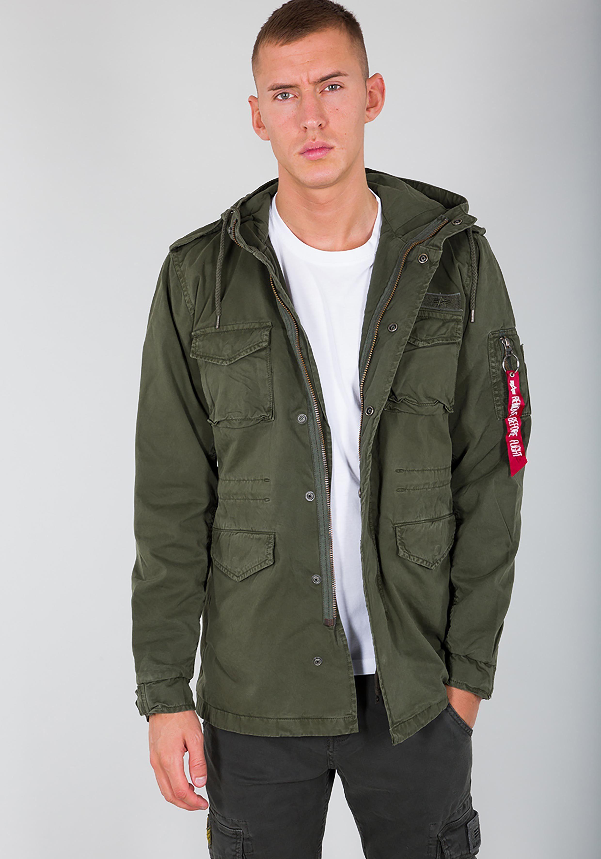 Alpha Industries Fieldjacket »Huntington Hood«