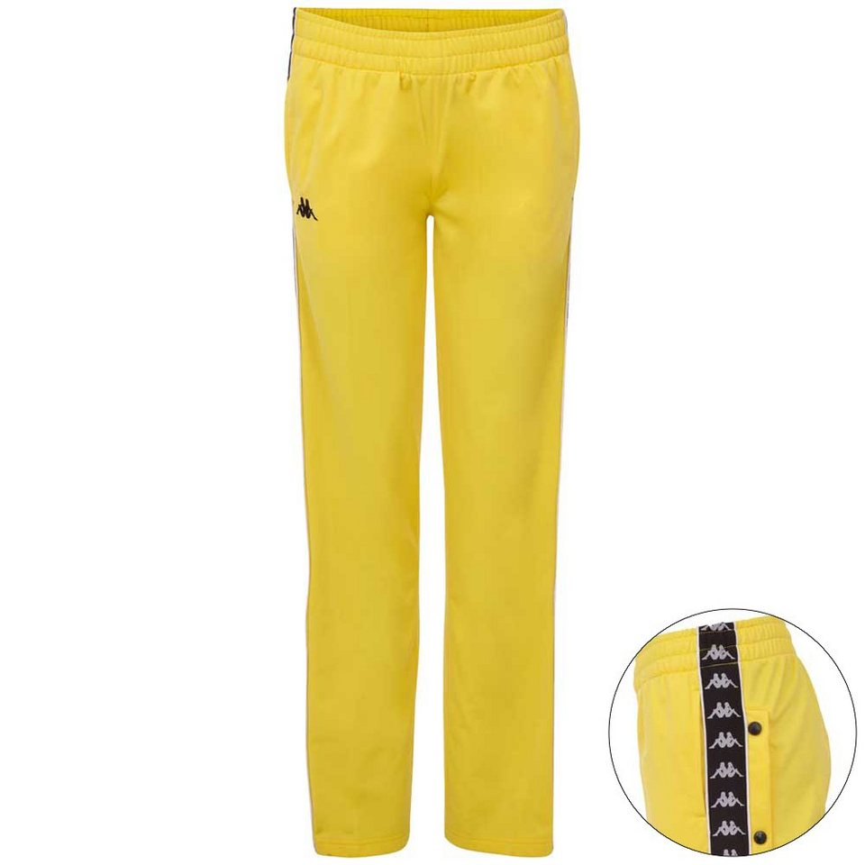 0f1094d4b7237a Kappa Trainingshose »AUTHENTIC ELVIRA« Popper Pants mit funktionaler  Knopfleiste am Bein