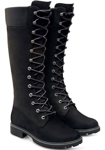 TIMBERLAND Suvarstomi ilgaauliai batai »Women's P...