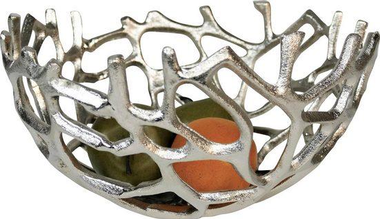 ARTRA Dekoschale »Klara«, aus Aluminium