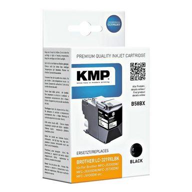 KMP Tintenpatrone ersetzt Brother »LC-3219XLBK«