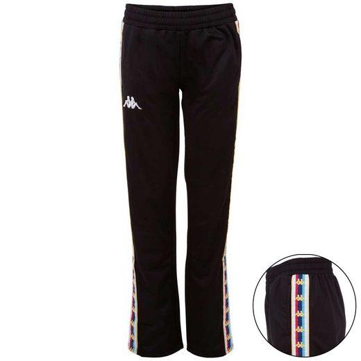 Kappa Trainingshose »AUTHENTIC VALETTA« mit mehrfarbigem Logoband am Bein
