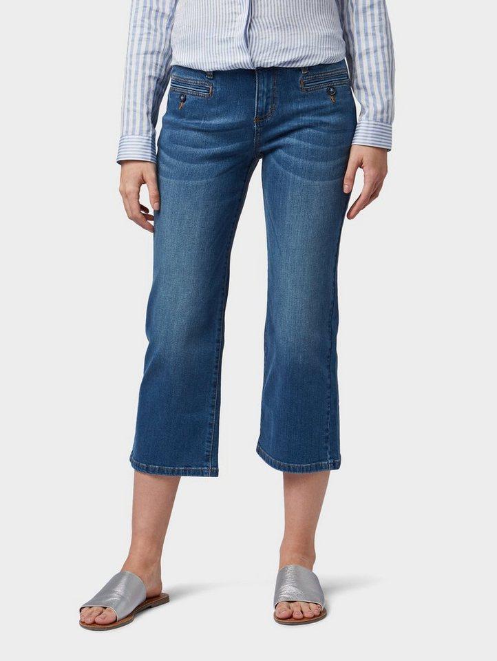 TOM TAILOR Weite Jeans »Culotte aus Denim«