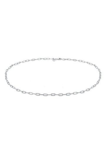 Elli Collierkettchen »Basic Gliederkette Blogger Trend 925er Silber«