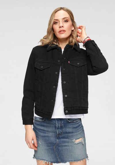 riesige Auswahl an 95a2b d1d1f Schwarze Jeansjacke online kaufen | OTTO