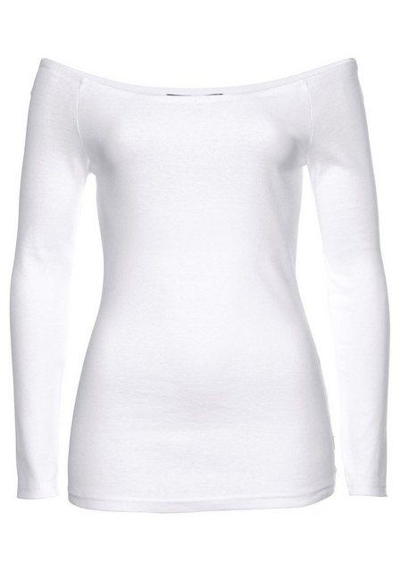Arizona Carmenshirt »Off-Shoulder« variabel tragbar | Bekleidung > Shirts > Carmenshirts & Wasserfallshirts | Arizona