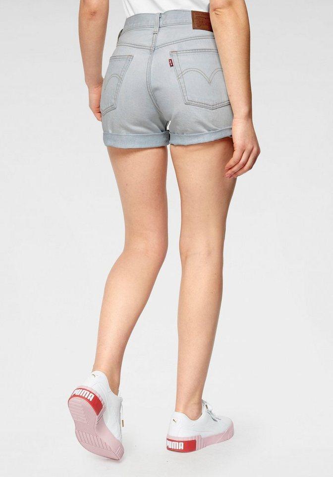 58875e76cd9ec Levi's® Jeansshorts »501 Button« Mit Knopfverschluss und krempelbarem Saum  online kaufen | OTTO