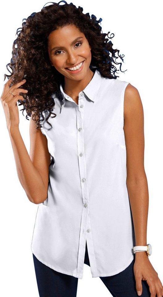 new concept 8ac80 1871d Classic Basics Bluse ohne Arm mit leicht abgerundetem Saum online kaufen |  OTTO