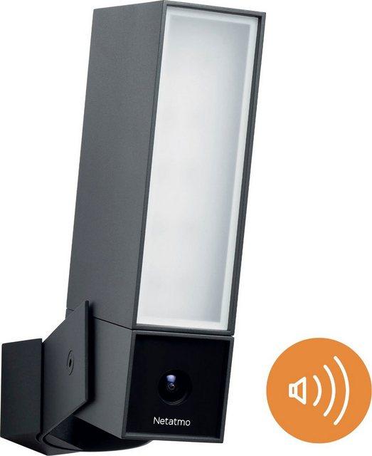 Netatmo »Smarte Außenkamera mit Alarmsirene« Überwachungskamera (Außenbereich, 1-tlg)