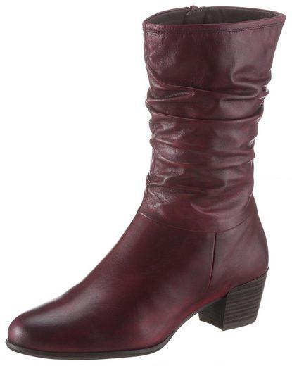 Tamaris »Ocimum« Stiefel mit kurzem, gerafftem Schaft