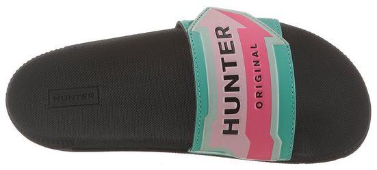Mit Hunter Badeschuh Logoschriftzug Hunter Mit Badeschuh q8gw8IR