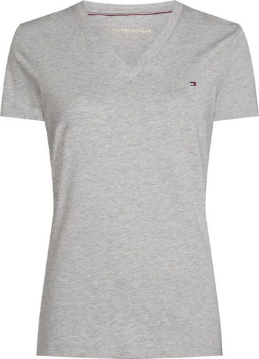 Tommy Hilfiger T-Shirt »HERITAGE V-NK TEE«