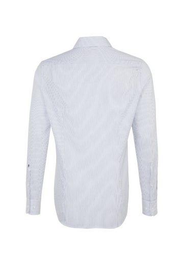 Langarm Streifen Kent Seidensticker kragen Businesshemd Slim »slim« qPWntBp