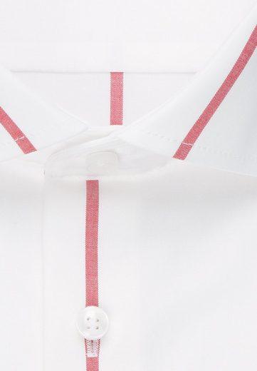 Langarm Businesshemd Slim Streifen kragen Kent »slim« Seidensticker pvqn070