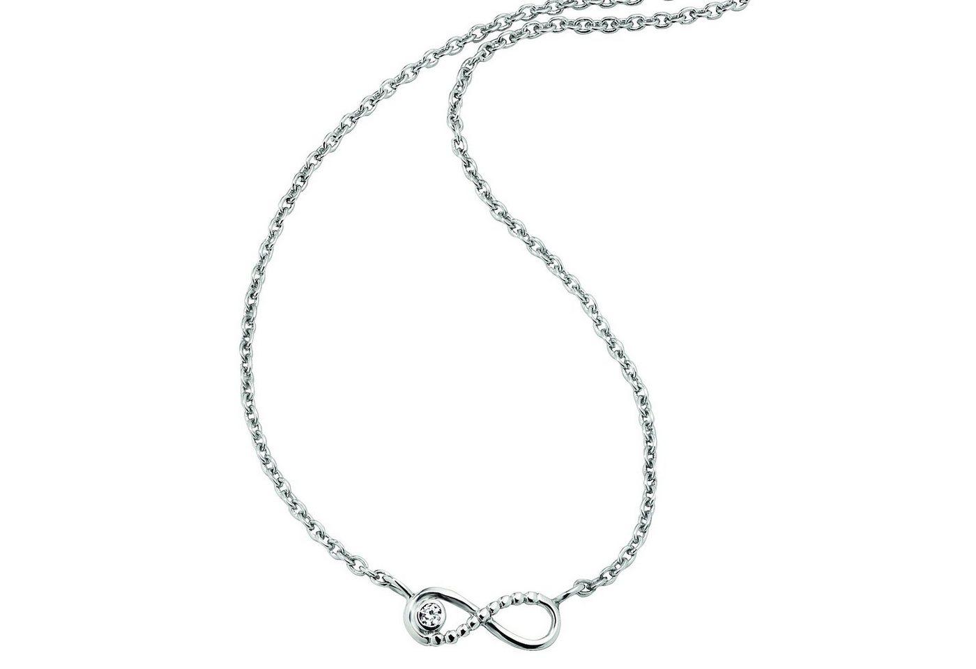 Cai Collier »925/- Sterling Silber rhodiniert Zirkonia«