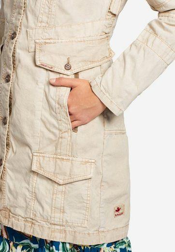 Eingrifftaschen Kurzmantel Used Zahlreichen »kerim« Mit Khujo Und details U0POw