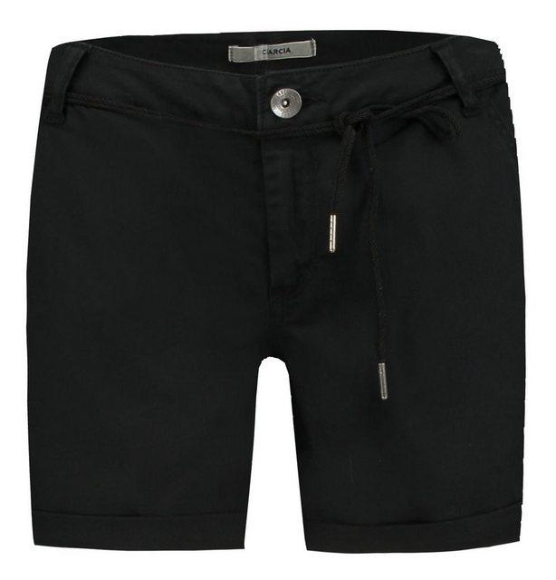 Hosen - Garcia Shorts mit Kordelgürtel › schwarz  - Onlineshop OTTO
