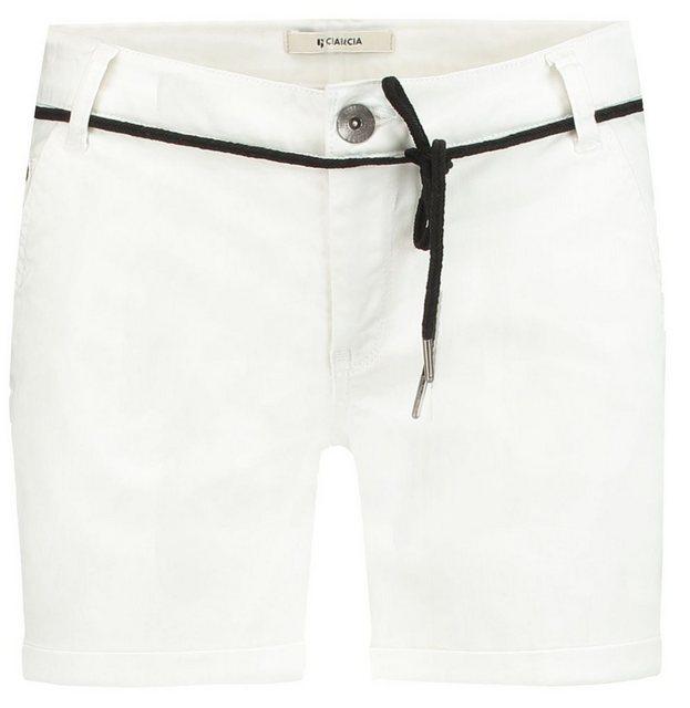 Hosen - Garcia Shorts mit Kordelgürtel › weiß  - Onlineshop OTTO